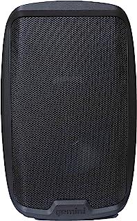 Gemini Sound AS-2110P 放大 2 声道 PA DJ 系统,10 英寸(约 25.4 厘米)低音炮 1000 瓦功率扬声器,带 XLR 输入/输出,2 x 1/4 英寸(约 5.4 厘米)麦克风 / RCA 和 AUX 输入,带手柄