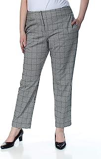 Kasper 女士格子长裤