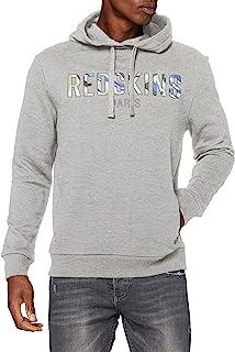Redskins 男式 Tyson Coach 连帽运动衫 杂灰色 S