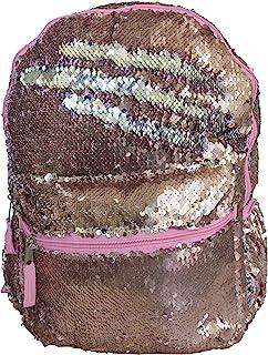 玫瑰金奢华 - 魔法亮片惊喜 40.64 厘米时尚背包