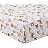 婴儿床床单棉布 - 超柔软透气婴儿床垫,适合男孩和女孩,尺寸 71.48 厘米 x 132.88 厘米 适用于标准婴儿床…