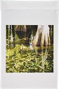 florene 景观–反射 IN THE swamp–旗帜 12 x 18 inch Garden Flag