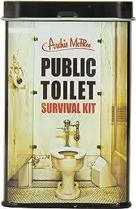 Accoutrements 公共厕所生存套装