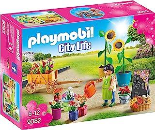 Playmobil 摩比世界 9082 – 卖花人