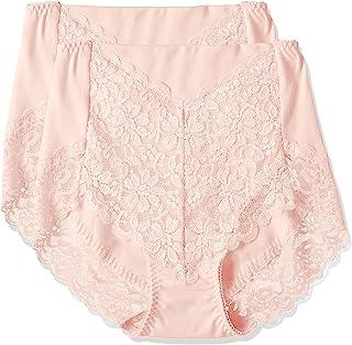 ATSUGI 厚木 内裤 3D COVER 棉质95% 收紧腹部 高腰 后摆蕾丝款 2条装 80846AS.BS.CS