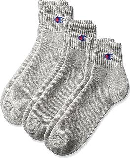Champion 冠军中筒袜3双装