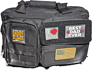 战术尿布邮差包,带尿布更换垫、瓶架、脏尿布包和爸爸补丁