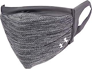 Under Armour 安德玛 成人运动面具, Pitch Gray (013)/Silver Chrome , Medium/Large