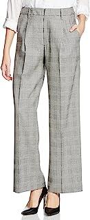 (GRACE CONTINENTAL) GRACE CONTINENTAL 灰色格纹阔腿裤