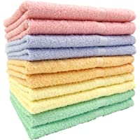kosugizen 面巾 5色各2条 33×83厘米 泉州毛巾 日本产德用颜色(日本颜色) 10片装