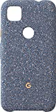 Google 谷歌 Pixel 4a 手機殼,藍色五彩紙屑