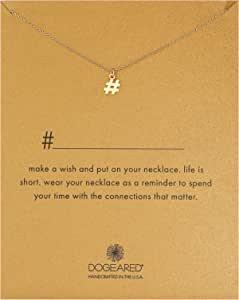 """Dogeared Pendant Necklace, 16"""""""
