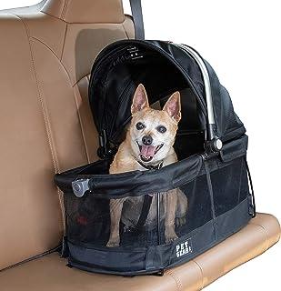Pet Gear 豪华旅行背带、汽车座椅、猫和狗增高座椅 Black - 360 360 Pet Carrier & Car Seat