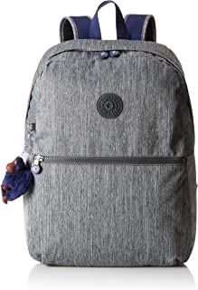 Kipling 凯浦林 Emery 书包 42 厘米 Grey (Ash Denim Bl) Grey (Ash Denim Bl)