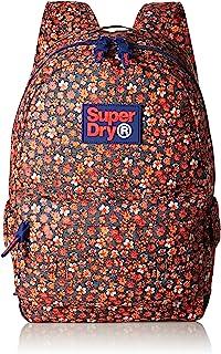 Superdry 中性印花版蒙大拿背包 Splattered Floral Red 均碼