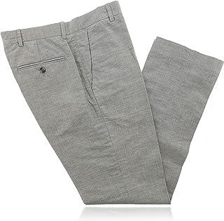Perry Ellis 考究必备合金男式时尚长裤 (29x30) 灰色