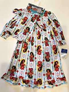 Elena of Avalor Disney 幼儿睡袍搭配娃娃衣服