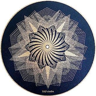 Taz Studio:高级唱片垫,证明音质,握感更好 [3mm] - 黑色迷幻艺术灯