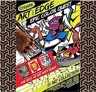 Crayola 绘儿乐 带边缘绘画套装 成人涂色 适合儿童和成人的礼物