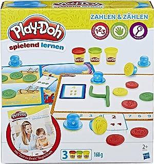 Hasbro 孩之宝 Play-Doh 培乐多 B3406100 - *一次数字和计数,彩泥