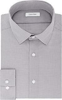Calvin Klein 男士修身衬衫,非铁格子