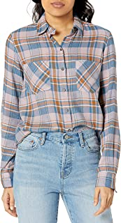William Rast 女士 Aidan 格子衬衫