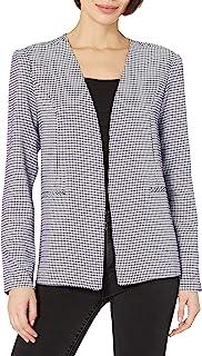 BCBGeneration 女式梭织长款缩褶袖西装外套
