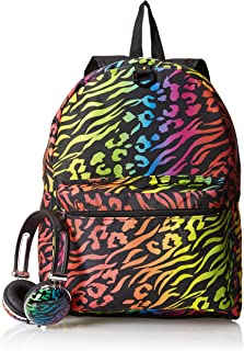 FAB Starpoint Big Girls'  Animal Print Backpack with Headphones