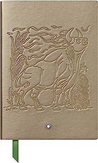 Montblanc 万宝龙 笔记本 #146,The Legend of Zodiacs - The Ox 皮革封面,金色,横线页,21 x 15厘米,125894