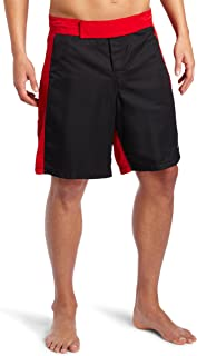 Soffe XT-46 男士 MMA 短裤 黑色/红色 Large