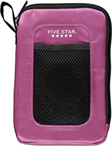 Five Star 7-Inch Tablet Sleeve with Loop Handle, Berry (72412)