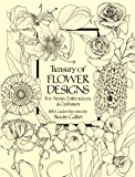 Treasury of Flower Designs for Artists, Embroiderers and Cra…