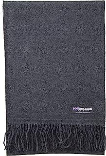 2 层 * 羊绒围巾优雅系列苏格兰制造羊毛纯色格子