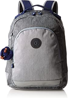 Kipling 凯浦林 Class Room S 学生背包,39 厘米 Grey (Ash Denim Bl) Grey (Ash Denim Bl)