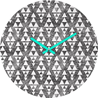 Deny Designs Holli Zollinger 堆叠圆形时钟