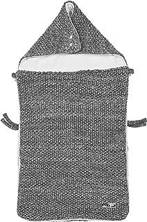 Meyco 2740080 脚套 汽车座椅天鹅绒内衬浮雕混合灰色