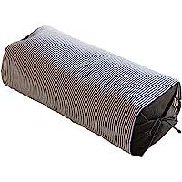 Niceday 荞麦皮枕头 日本制造 (高度:高) 除臭消菌加工 可调节高度 18×47×16厘米 藏青色 320019…