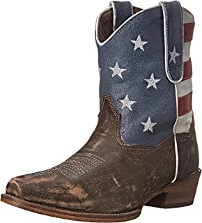 Roper 女士 American Beauty Western 靴子