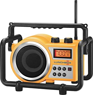 Sangean LB-100 超坚固紧凑 AM / FM 收音机黄色