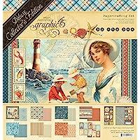 图案 45 (4501832) - 豪华收藏版 - 海蓝色 - 多色 - 30.48 x 30.48 厘米