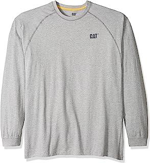 Caterpillar 男士表演长袖 T 恤