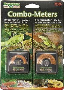 Reptology 爬行动湿度计湿度及温度传感器仪表