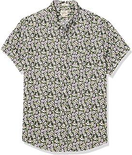 J.Crew 男式短袖亞麻襯衫