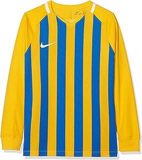 Nike 儿童条纹Division Iii 长袖球衣 Mehrfarbig (University Gold/Black/White) M Striped Division Iii Football Jersey