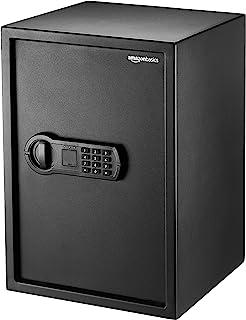 Amazonベーシック 金庫 家庭用 テンキー式 51L 35×33×50cm ブラック