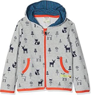 loud + Proud 婴儿 jacke woll-anteil , druck 夹克