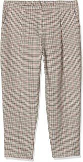 New Look 女式 T Bella 格子修身 TRS 裤,棕色(棕色图案 29),(尺码:14)