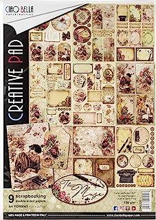 CIAO BELLA PAPER CBCL028 A4 纸张 9 张 音乐系列 9 种设计 1 件 均码