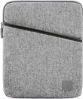舒适的平板电脑内胆包适用于 9.7 10.2 10.5 10 11 英寸 iPad Pro Air 2020 和智能/魔术键盘,带配件袋 - iPad 防水内胆包,灰色