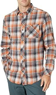 Timberland 添柏嵐 PRO 男式 A1V49 Woodfort 中等重量法蘭絨工作襯衫